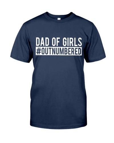 Dad Of Girls Shirts