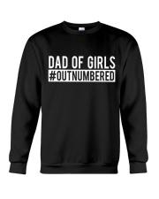 Dad Of Girls Crewneck Sweatshirt thumbnail