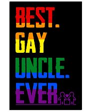 Best Gay Uncle Ever 11x17 Poster front