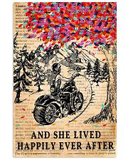 And She Lived Happily Ever After Motorbike 11x17 Poster front
