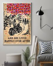 And She Lived Happily Ever After Motorbike 11x17 Poster lifestyle-poster-1