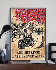 And She Lived Happily Ever After Motorbike 11x17 Poster lifestyle-poster-2