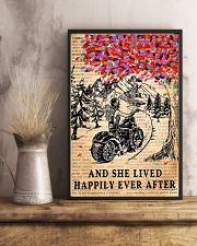 And She Lived Happily Ever After Motorbike 11x17 Poster lifestyle-poster-3