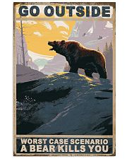 Bear Love Camping 11x17 Poster front