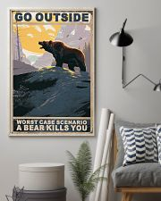 Bear Love Camping 11x17 Poster lifestyle-poster-1