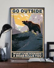 Bear Love Camping 11x17 Poster lifestyle-poster-2