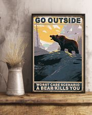 Bear Love Camping 11x17 Poster lifestyle-poster-3