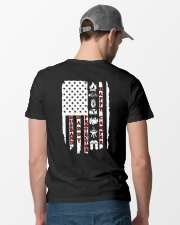 Husband-Daddy-Protector-Happy Camper Classic T-Shirt lifestyle-mens-crewneck-back-6
