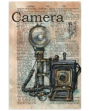 Dictionary Page Definition Camara 11x17 Poster front