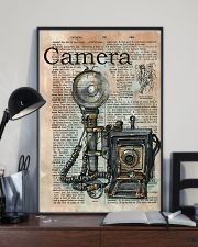 Dictionary Page Definition Camara 11x17 Poster lifestyle-poster-2