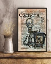 Dictionary Page Definition Camara 11x17 Poster lifestyle-poster-3