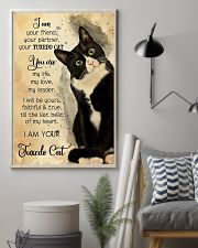 Tuxedo Cat I Am Your Friend 11x17 Poster lifestyle-poster-1