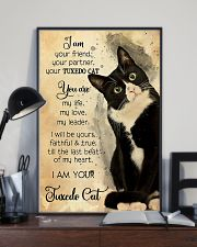 Tuxedo Cat I Am Your Friend 11x17 Poster lifestyle-poster-2
