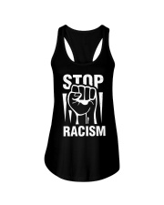 Top Racism Ladies Flowy Tank thumbnail