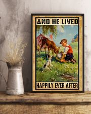 Farmer Boy Love Dogs And Dairy Cattle 11x17 Poster lifestyle-poster-3