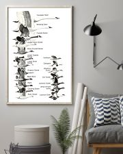 Bird Size Chart 11x17 Poster lifestyle-poster-1
