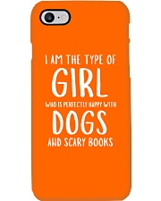 Dogs and Scary Books Girl Phone Case i-phone-7-case