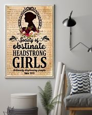 Society Of Obstinate Headstrong Girls 11x17 Poster lifestyle-poster-1