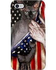 Love Sphynx Cat United State Flag Phone Case i-phone-8-case