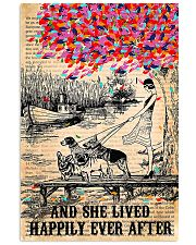 Girl And Dog And She Lived Happily Ever After 11x17 Poster front