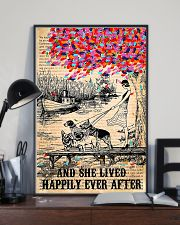 Girl And Dog And She Lived Happily Ever After 11x17 Poster lifestyle-poster-2