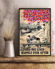 Girl And Dog And She Lived Happily Ever After 11x17 Poster lifestyle-poster-3