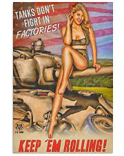 Tanks Fight In Factories 11x17 Poster front