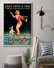 Trout Fishing Once Upon A Time 11x17 Poster lifestyle-poster-1