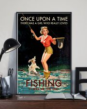 Trout Fishing Once Upon A Time 11x17 Poster lifestyle-poster-2