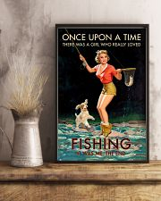 Trout Fishing Once Upon A Time 11x17 Poster lifestyle-poster-3