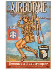Become A Paratrooper Jump Into The Fight 2 11x17 Poster front