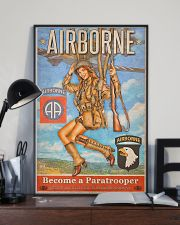 Become A Paratrooper Jump Into The Fight 2 11x17 Poster lifestyle-poster-2