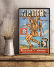 Become A Paratrooper Jump Into The Fight 2 11x17 Poster lifestyle-poster-3