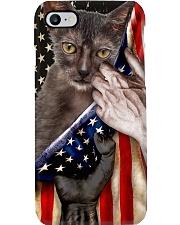 Love Lykoi Cat United State Flag Phone Case i-phone-8-case