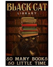 Black Cat Library 11x17 Poster front