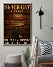 Black Cat Library 11x17 Poster lifestyle-poster-1