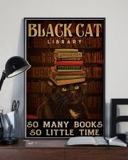 Black Cat Library 11x17 Poster lifestyle-poster-2