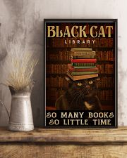 Black Cat Library 11x17 Poster lifestyle-poster-3