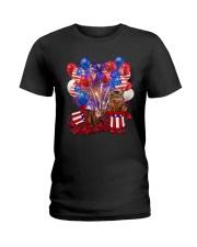 Love Somali Ladies T-Shirt thumbnail