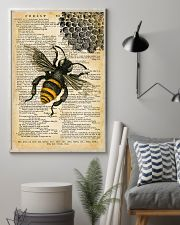 Vintage Dictionary Page Bee 11x17 Poster lifestyle-poster-1