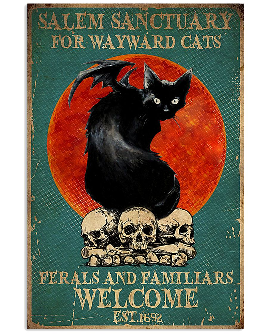 Salem Sanctuary For Wayward Cat 11x17 Poster