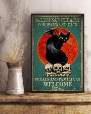 Salem Sanctuary For Wayward Cat 11x17 Poster lifestyle-poster-3