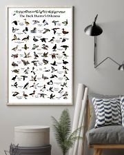 Duck Identification Charts 11x17 Poster lifestyle-poster-1