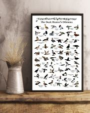 Duck Identification Charts 11x17 Poster lifestyle-poster-3