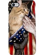 Love Siberian Cat United State Flag Phone Case i-phone-8-case