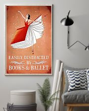 Easily Distracted By Books And Ballet 11x17 Poster lifestyle-poster-1