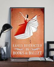 Easily Distracted By Books And Ballet 11x17 Poster lifestyle-poster-2