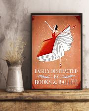 Easily Distracted By Books And Ballet 11x17 Poster lifestyle-poster-3