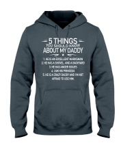 daddy Hooded Sweatshirt front