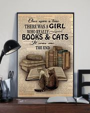Books And Cats 11x17 Poster lifestyle-poster-2